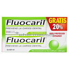 FLUOCARIL DENTÍFRICO BIFLUORE 2X125 (TOTAL 250ML)