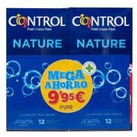 CONTROL NATURE PRESERVATIVOS 12+12