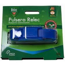 RELEC PULSERA ANTIMOSQUITOS REPELENTE